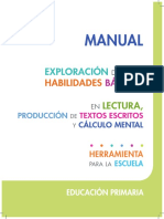 PRIMARIA_Escuela_ Exploración-Habilidades