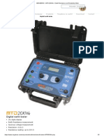 MEGABRAS _ MTD-20KWe _ Earth Resistance and Resistivity Meter_ Chara