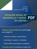2016.Teórico 24.Situación Social Del Desarrollo y Vivencia en Vigotsky