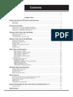 Manual Pedalera ZOOM 4040
