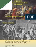 Etica en La Investigacion. Socrates