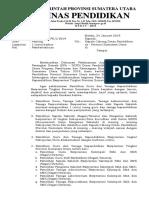 Surat Pemberitahuan Pelaksanaan GTK BERPRESTASI 2019