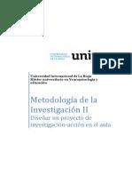 Ivan Chuquipiondo Diseñodeproyectoinvestigacion-Accion Tema8