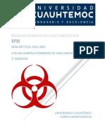 Residuos Peligrosos Biologico Infeccioso