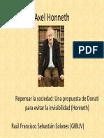 Honneth Donati