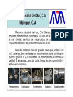 Catalogo Meinsur PDF