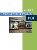 Cadena de suministro Zara