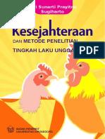 Buku Kesejahteraan Dan Metode Penelitian Tingkah Laku Unggas
