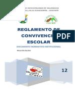 Manual de Convivencia Escolar 2011 Chuchiñí René
