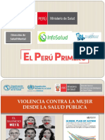 1 y 2 Abordaje de La Violencia Desde La Salud Pública y Directrices de La Oms Sobre El Abordaje de La Violencia