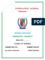 12th Chemistry Project PDF File