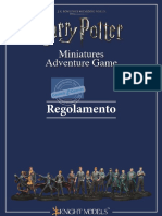 Harry Potter Regolamento Italiano