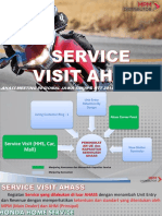Service Visit Home Service, Car, Mall & Factory Meeting Regional 2016