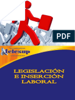 Lesgislación e Inserción Laboral