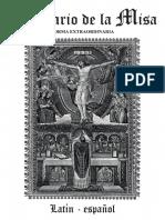 Cuadernillo Misa Tradicional Latin
