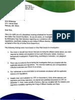 Vanek findings Letter
