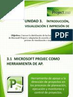 3. Visualización e Impresion de Proyectos