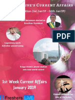 January 2019 1st Week Current Affairs Update.pdf
