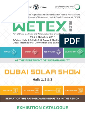 WETEX2018 Catalogue | United Arab Emirates | Dubai
