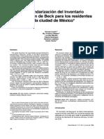 Jurado et al. (1998) - La estandarización del Inventario de Depresión de Beck.pdf