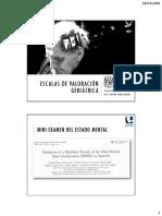 Trigás-Ferrín Et Al. (2011) - Escalas de Valoración Funcional en El Anciano