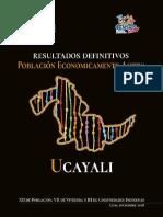 Censo, Ucayali. Dic, 2018