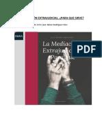 Díez Romeo_ La mediación extrajudicial. Para que sirve..pdf