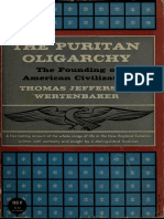 The Puritan Oligarchy the Founding of American Civilization