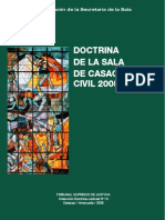 Doctrina de La Scc-tsj 2005