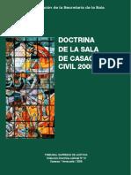 Doctrina de La Scc-tsj 2005