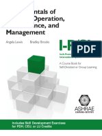 Fundamentals of Building Operation Maitenance and Managment