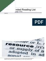 Aqa 7702 Reading List