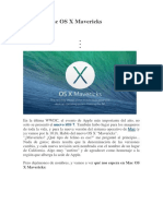 Cómo Es Mac OS X Mavericks