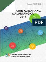 Kecamatan Ajibarang Dalam Angka 2017