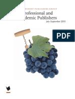 IPG July-September 2010 Academic Catalog