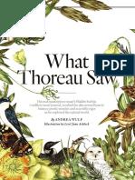 What Thoreau Saw