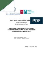 Abordaje Fisioterapéutico en El Síndrome de Guillain-Barré. Revisión Bibliográfica Narrativa