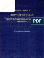 Liszt and his World