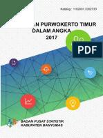 Kecamatan Purwokerto Timur Dalam Angka 2017