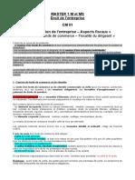 Droit Fiscal Master1 M MS CM01