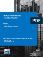 Level7 - International Commercial Law