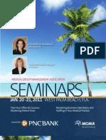 MGMA January 2011 Seminars