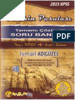 İsmail Adıgüzel-Tarihin Pusulası-Soru Bankası