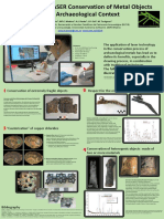 Possibilities of LASER Conservation of Metal Objects From Archaeological Context
