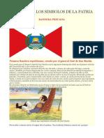 Historia de Los Simbolos de La Patria