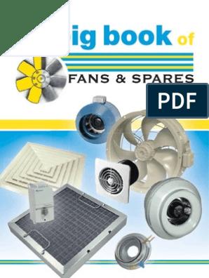 Big Book of Fans | Duct (Flow) | Bathroom