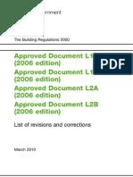 Approved Doc Part L October 2010