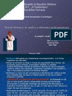 Daranuta Nina -Metode Biologice in Analiza Farmaceutica