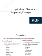 Ch. 2 Physical and Chemical Properties