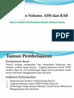 99936 BT 06 Perhitungan Volume AHS Dan RAB